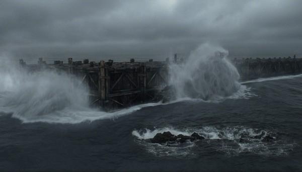 Noah: l'impeto del mare in tempesta