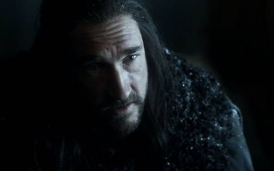 Il trono di spade: Joseph Mawle in una scena dell'episodio Lord Snow
