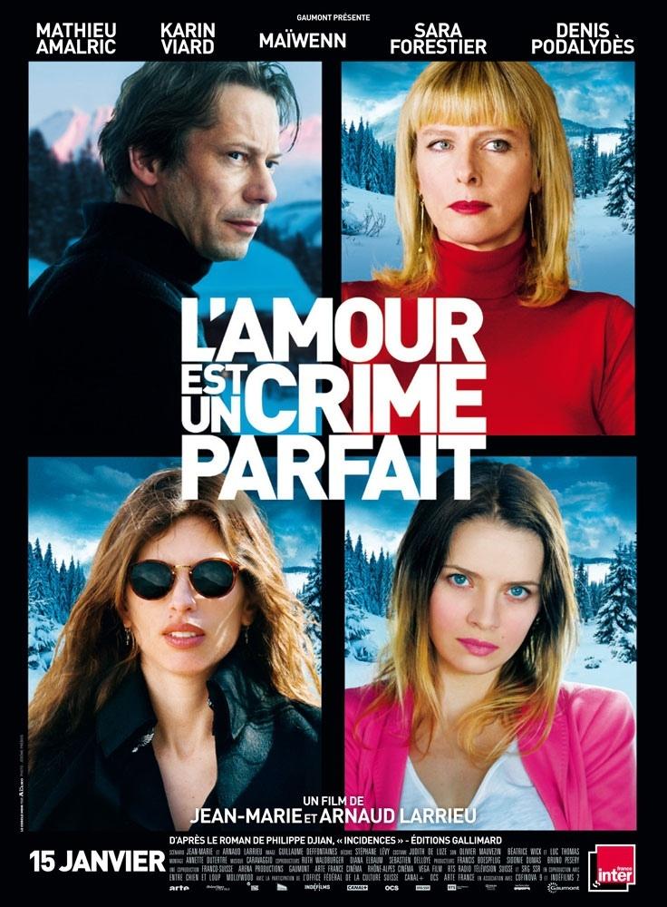 L'amour est un crime parfait: la locandina del film