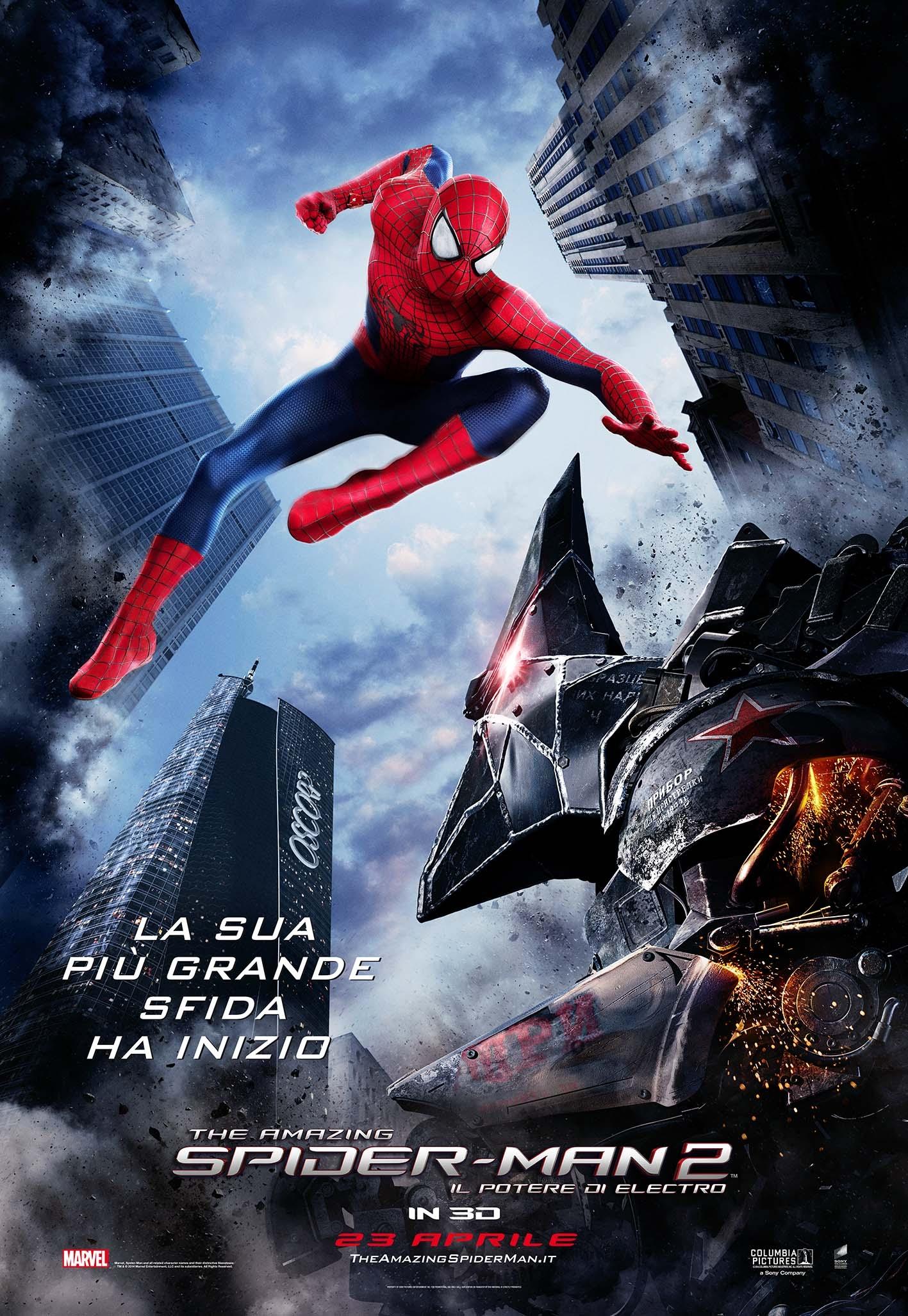 The Amazing Spider-Man 2: una nuova locandina italiana del film