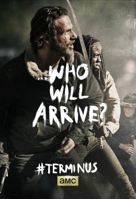 The Walking Dead: un poster per il finale della stagione 4