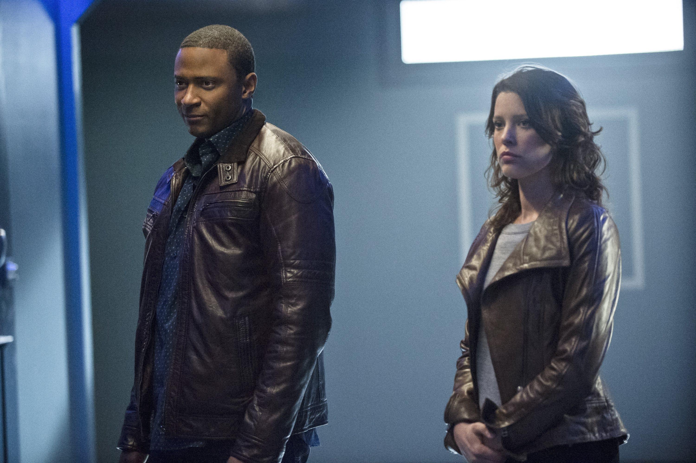 Arrow: David Ramsey e Audrey Marie Anderson nell'episodio Suicide Squad