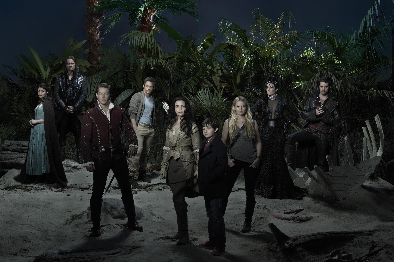C'era un volta: il cast in un manifesto promozionale della terza stagione