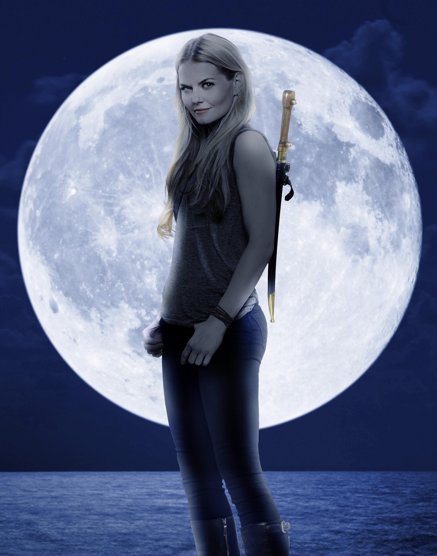 C'era una volta: Jennifer Morrison in un poster promozionale della terza stagione