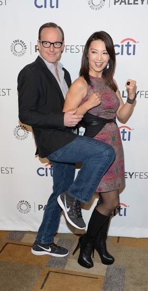 Clark Gregg e Ming-Na Wen al PaleyFest del 2014
