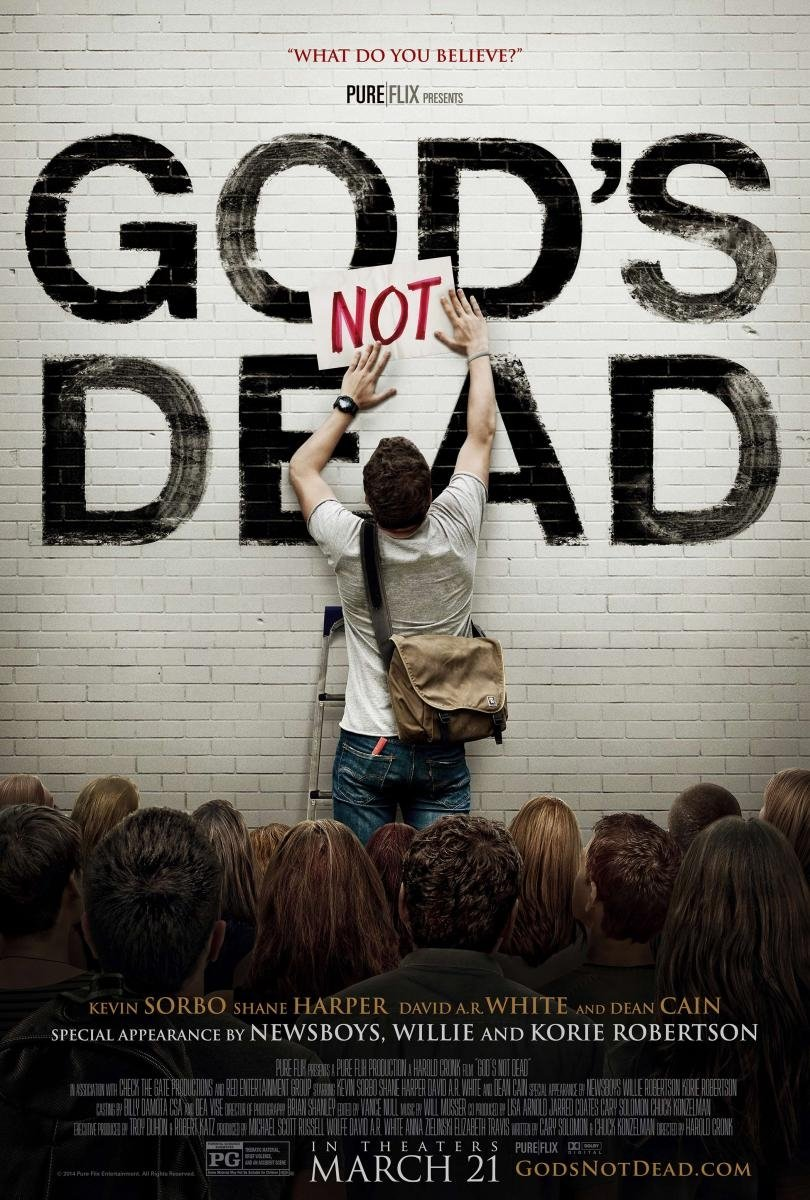 God's Not Dead: la locandina del film