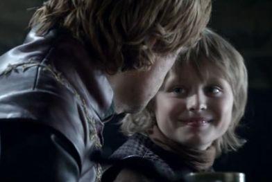 Il trono di spade: il piccolo Callum Wharry è Tommen Baratheon