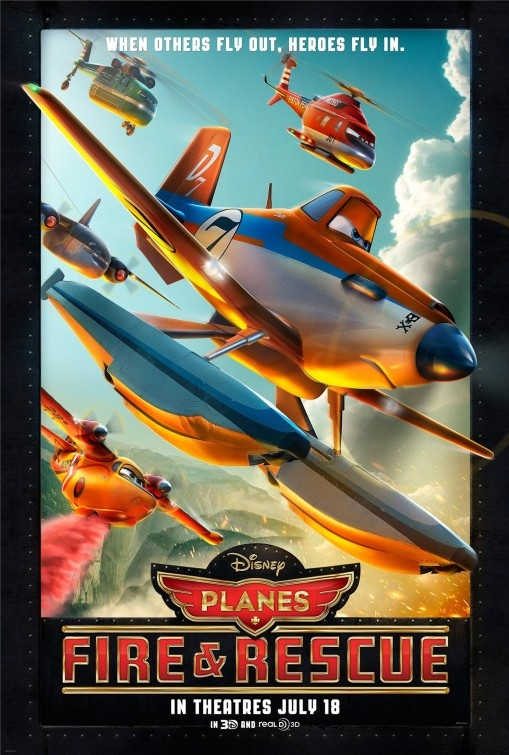 Planes: Fire & Rescue -Poster USA
