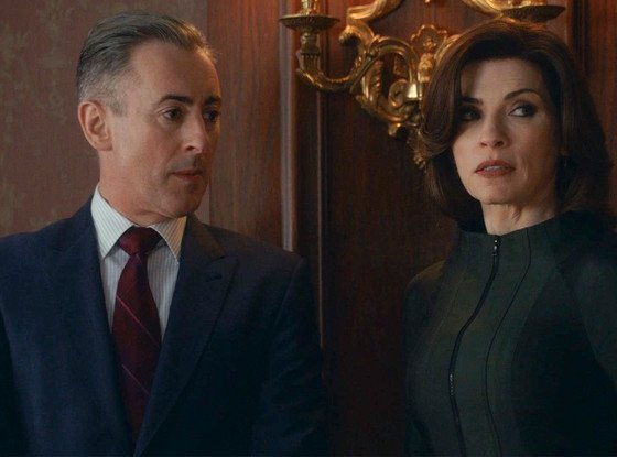 The Good Wife: Alan Cumming e Julianna Margulies nell'episodio Dramatics, Your Honor