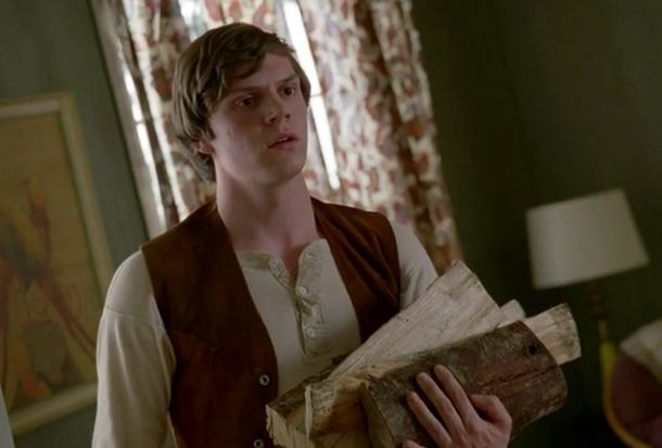 American Horror Story Asylum: Evan Peters in Continuum
