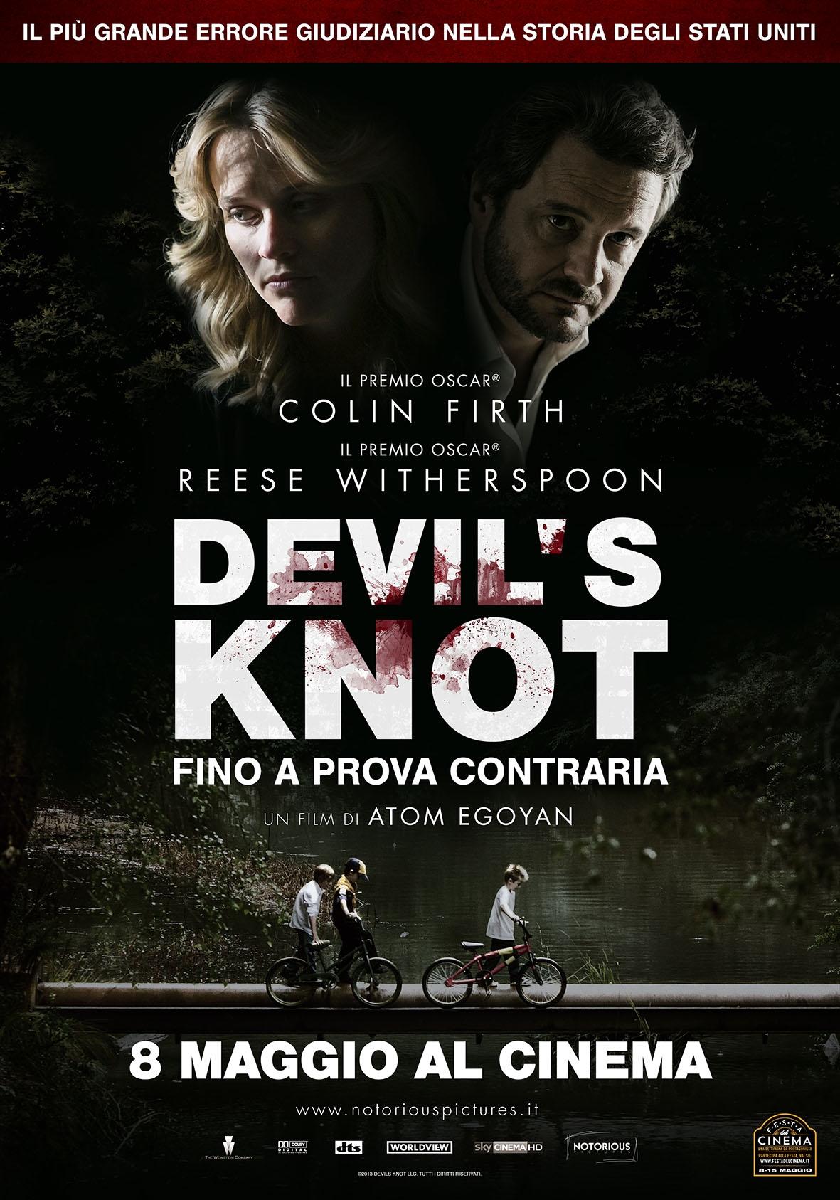 Devil's Knot: la locandina italiana del film