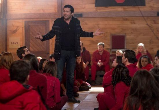 The Following: James Purefoy in una scena dell'episodio Teacher's Pet