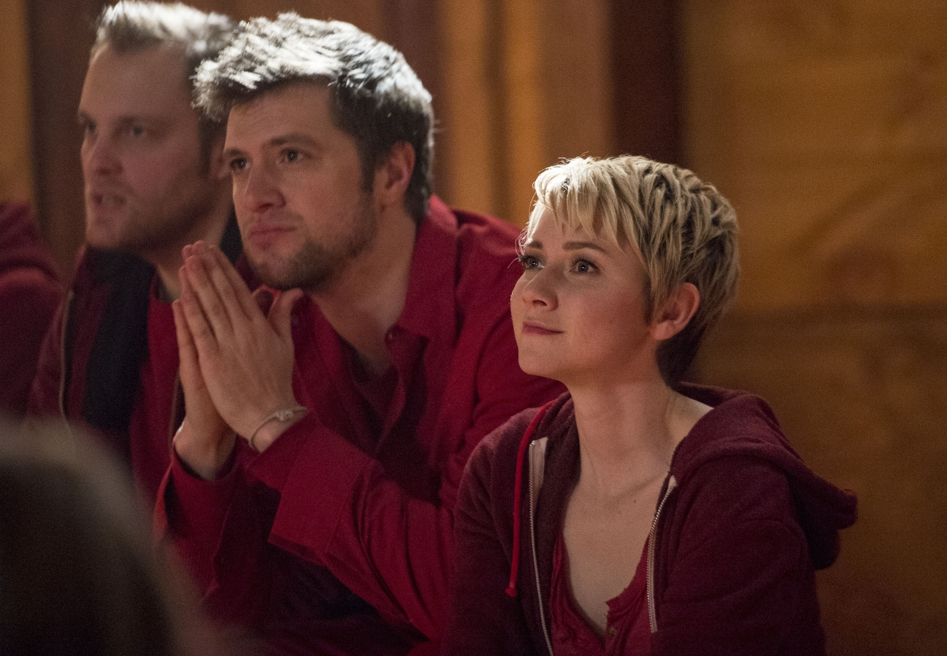 The Following: Valorie Curry in una scena dell'episodio Teacher's Pet