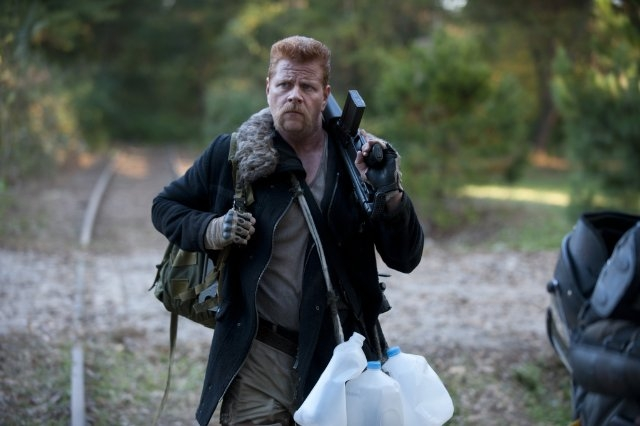 The Walking Dead: Michael Cudlitz	è Abraham Ford nell'episodio Noi
