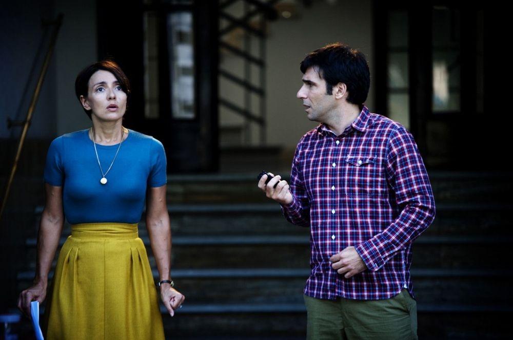 Ti ricordi di me?: Edoardo Leo e Ambra Angiolini in una scena