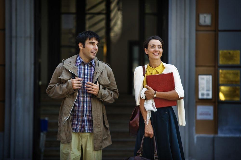 Ti ricordi di me?: i protagonisti Edoardo Leo e Ambra Angiolini in una scena