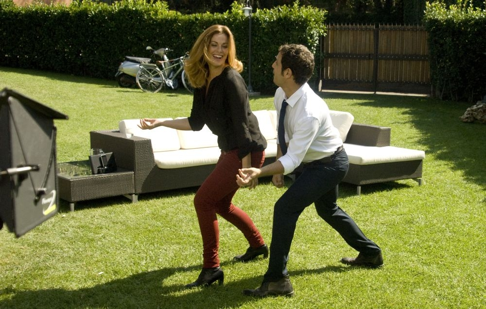 Ti sposo ma non troppo: Gabriele Pignotta e Vanessa Incontrada provano una scena