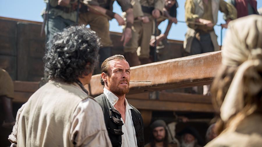 Black Sails: Toby Stephens nel quarto episodio della prima stagione