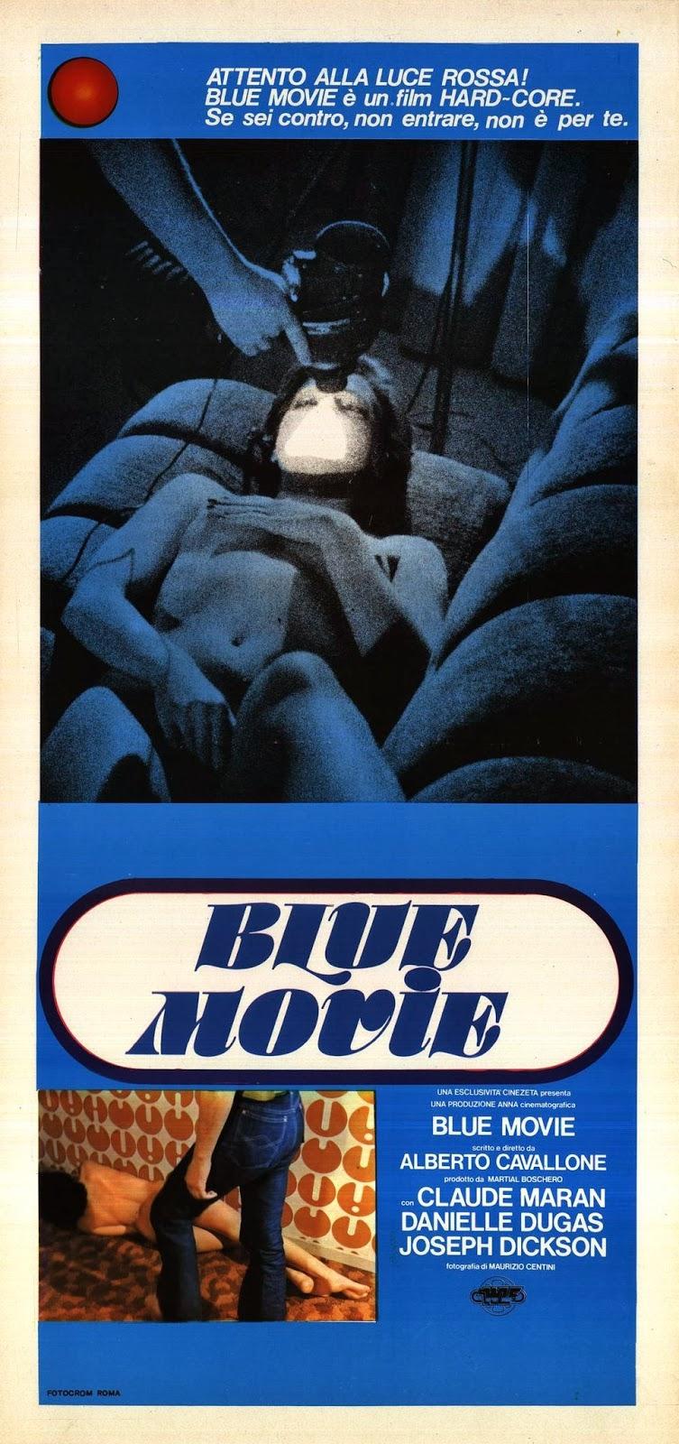 Blue Movie: la locandina del film