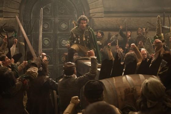 Da Vinci's Demons: una scena dell'episodio The Blood of Man