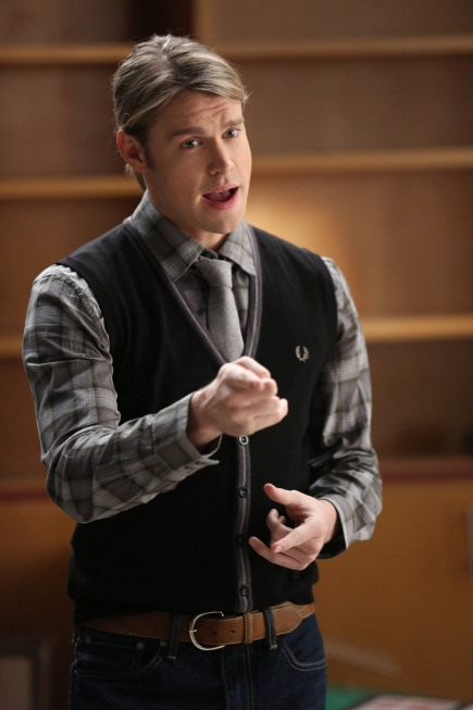 Glee: Chord Overstreet nell'episodio New Directions