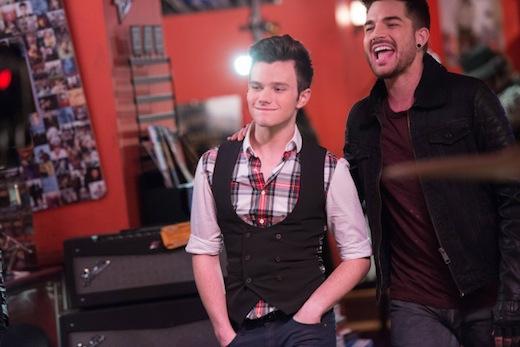 Glee: Chris Colfer in una scena dell'episodio New New York della quinta stagione