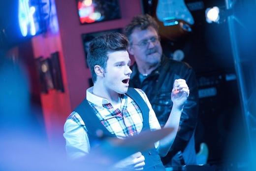 Glee: Chris Colfer nell'episodio New New York