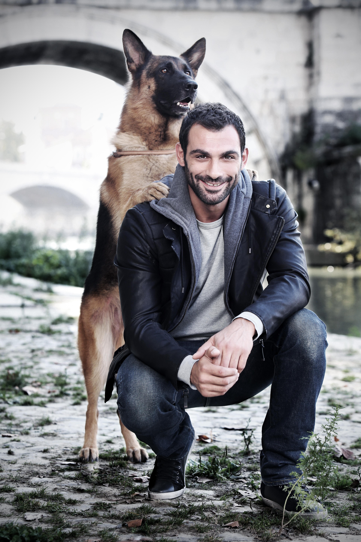 Rex 7: Francesco Arca in una foto promozionale della serie