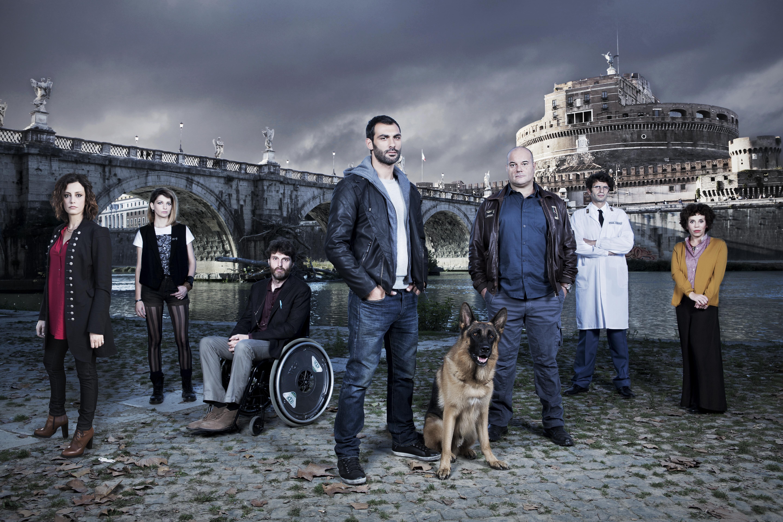 Rex 7: una foto promozionale del cast della stagione