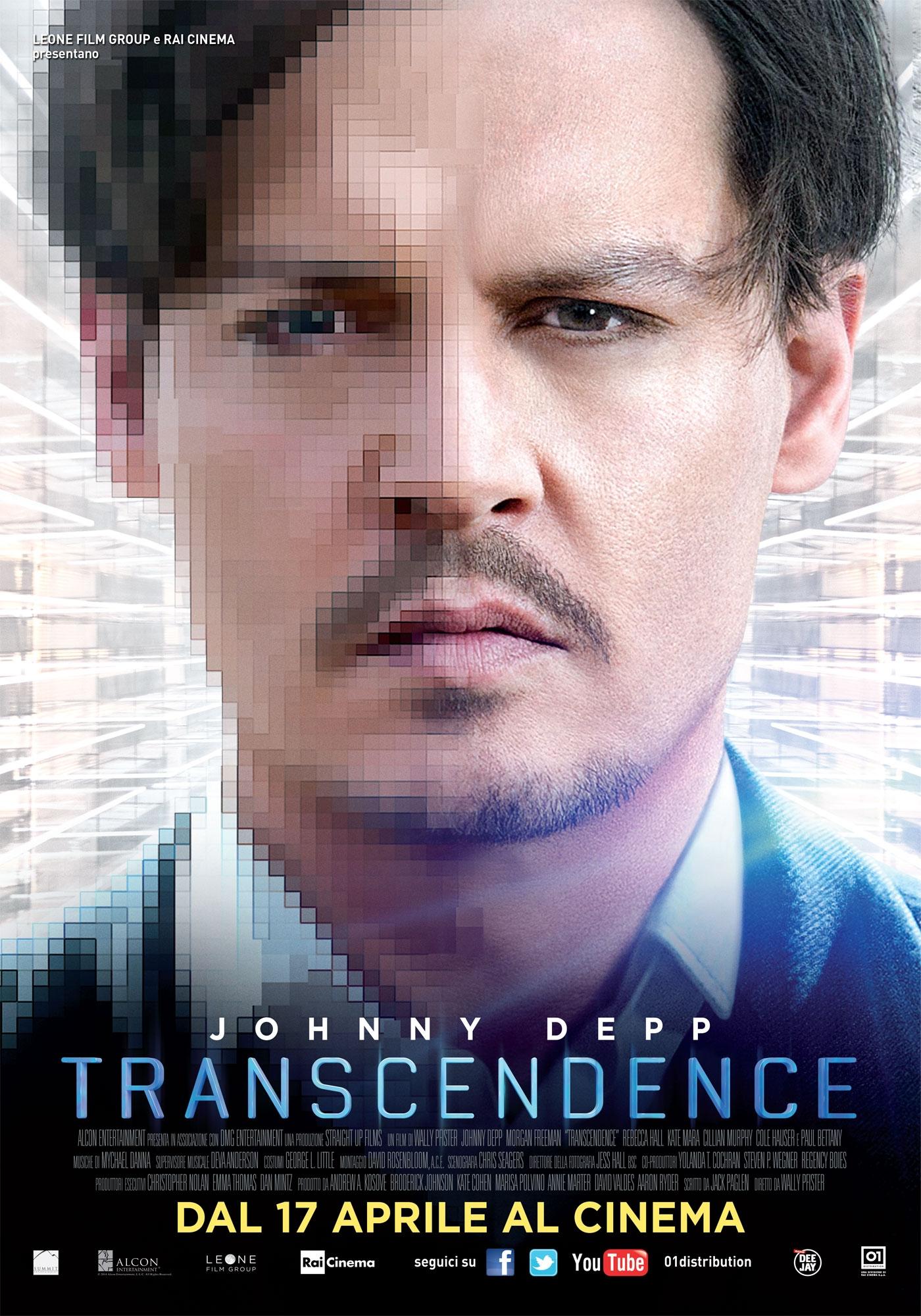 Transcendence: la locandina italiana