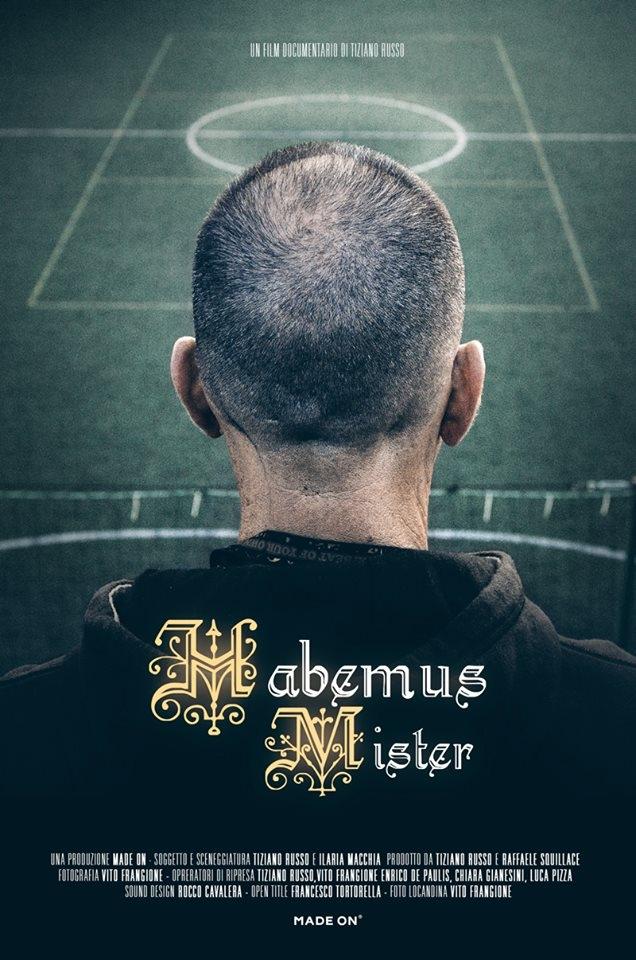 Habemus mister: la locandina del documentario