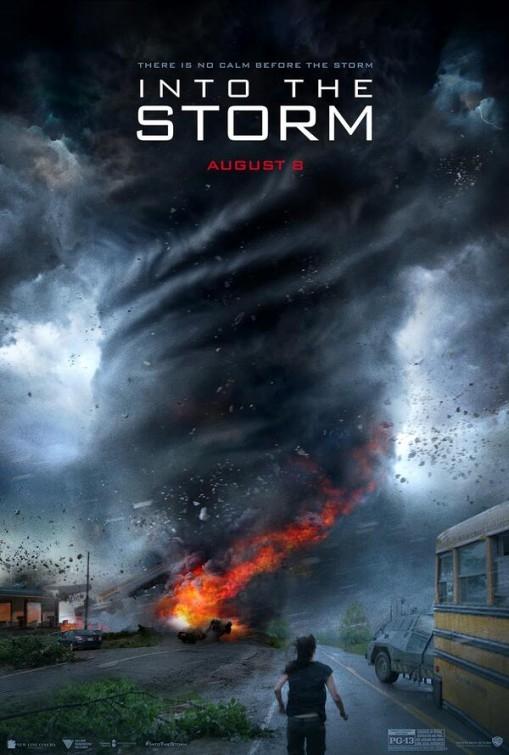 Into the Storm: la locandina del film