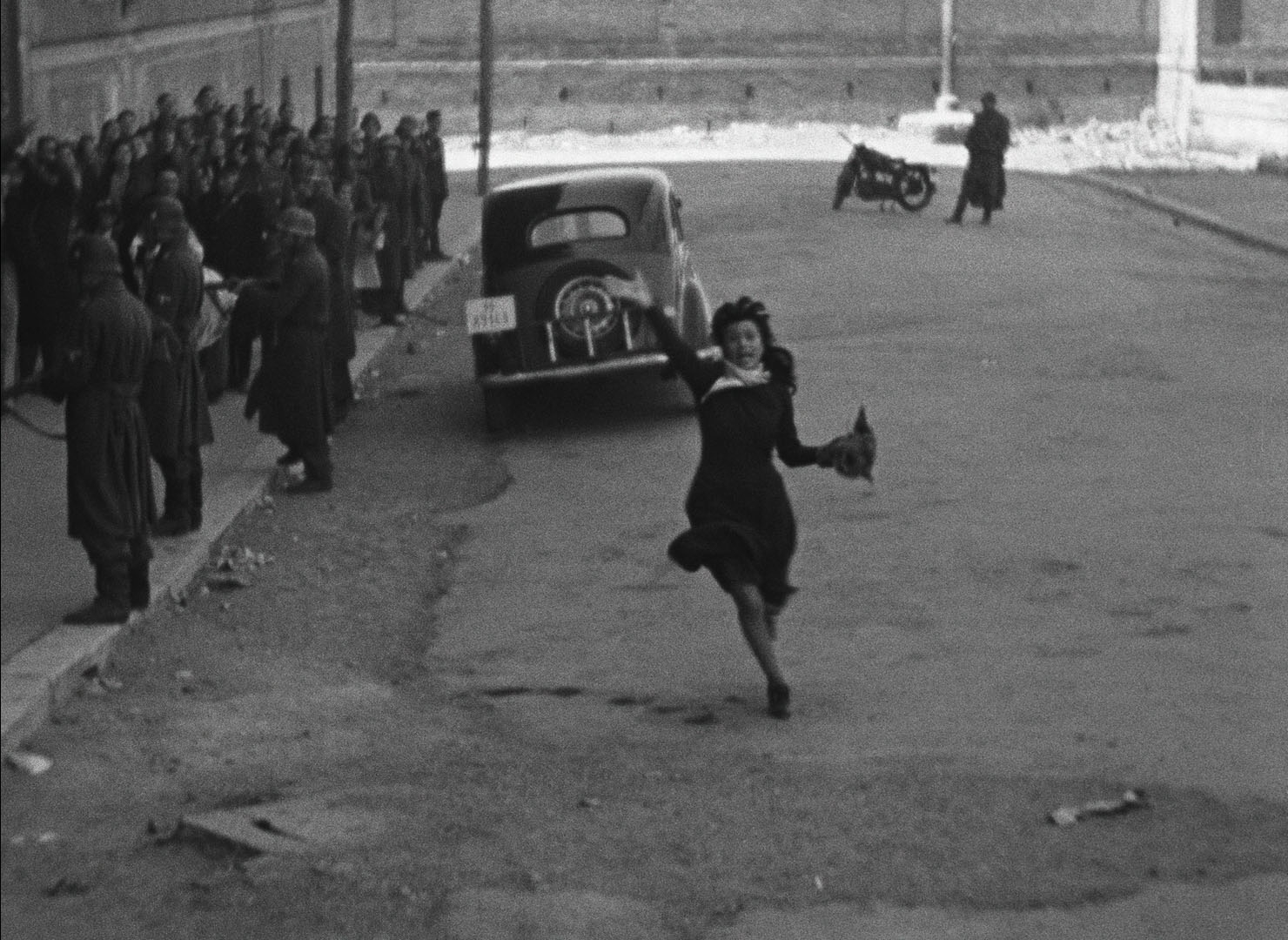 Roma, città aperta: un'immagine del film