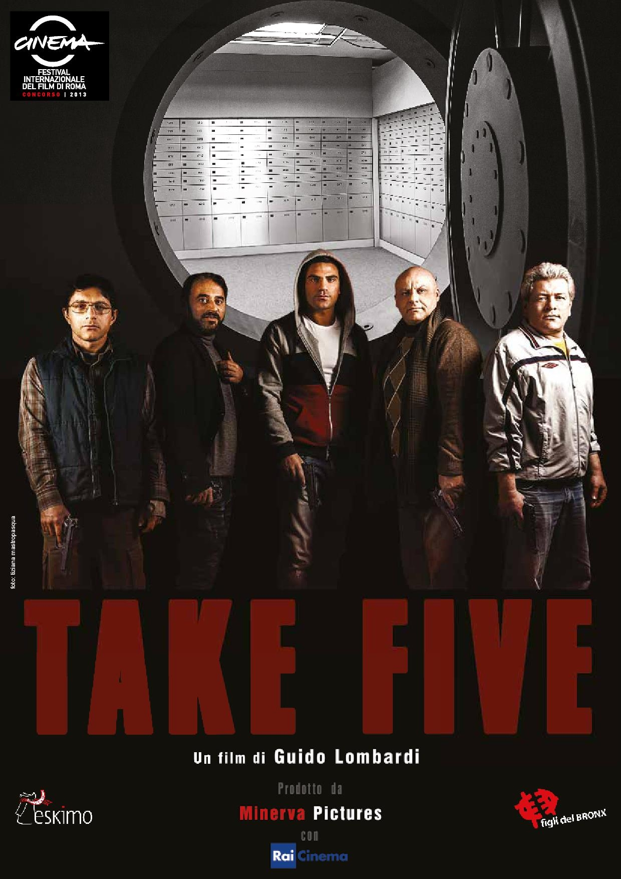 Take Five: la locandina del film
