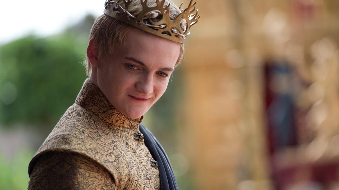 Il trono di spade: Jack Gleeson in una scena della quarta stagione