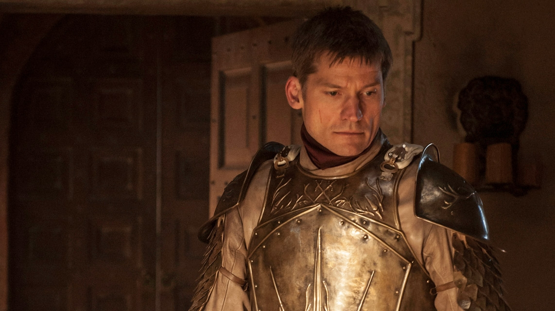 Il trono di spade: Nikolaj Coster-Waldau nell'episodio Two Swords
