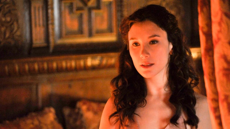 Il trono di spade: Sibel Kekilli in una scena della quarta stagione