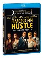 La copertina di American Hustle - L'apparenza inganna (blu-ray)