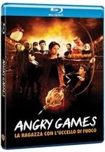 La copertina di Angry Games - La ragazza con l'uccello di fuoco (blu-ray)