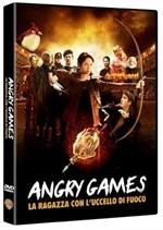 La copertina di Angry Games - La ragazza con l'uccello di fuoco (dvd)