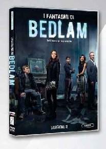 La copertina di I fantasmi di Bedlam - Stagione 2 (dvd)