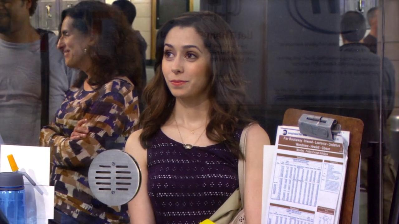 How I Met Your Mother: Cristin Milioti in una scena dell'episodio Qualcosa di nuovo