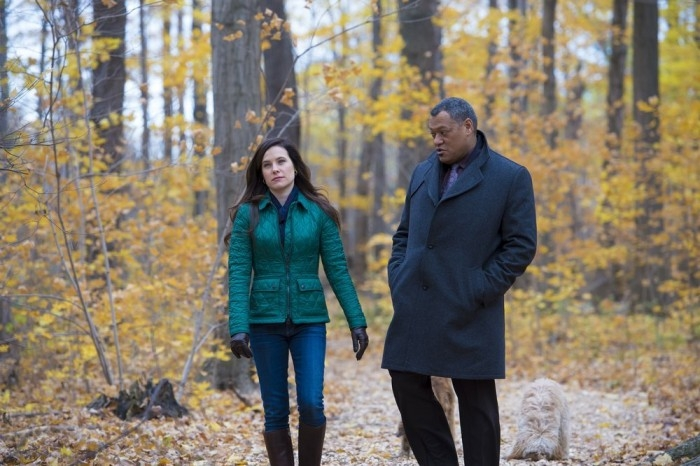 Hannibal: Caroline Dhavernas e Laurence Fishburne nell'episodio Futamono
