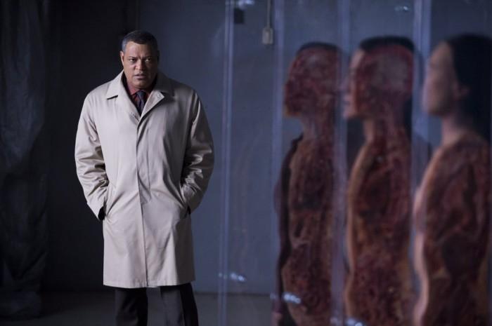 Hannibal: Laurence Fishburne nell'episodio Mukozuke della seconda stagione