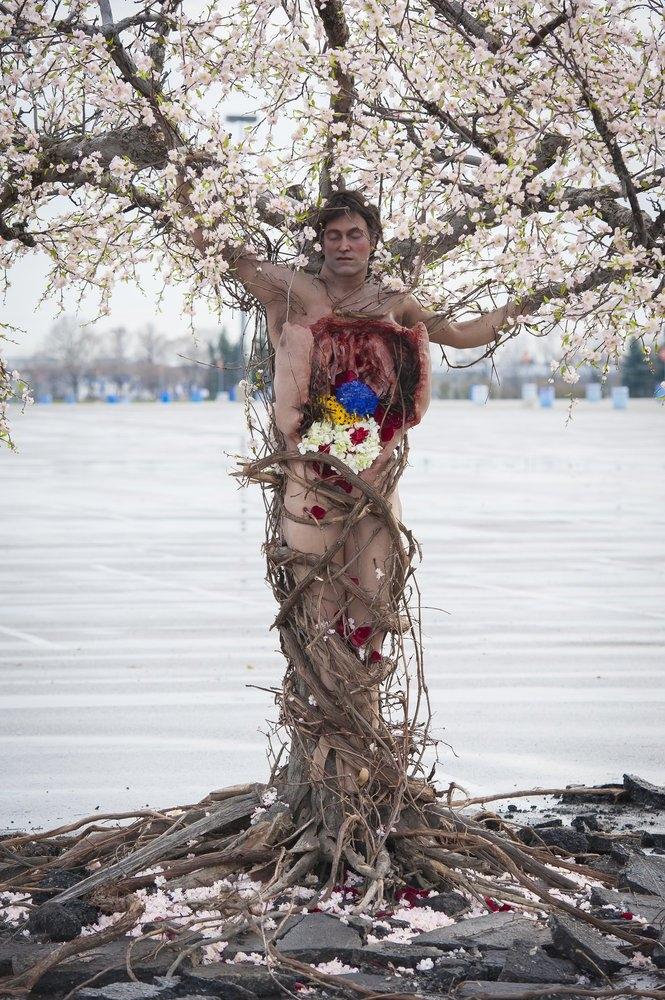 Hannibal: una scena dell'episodio Futamono