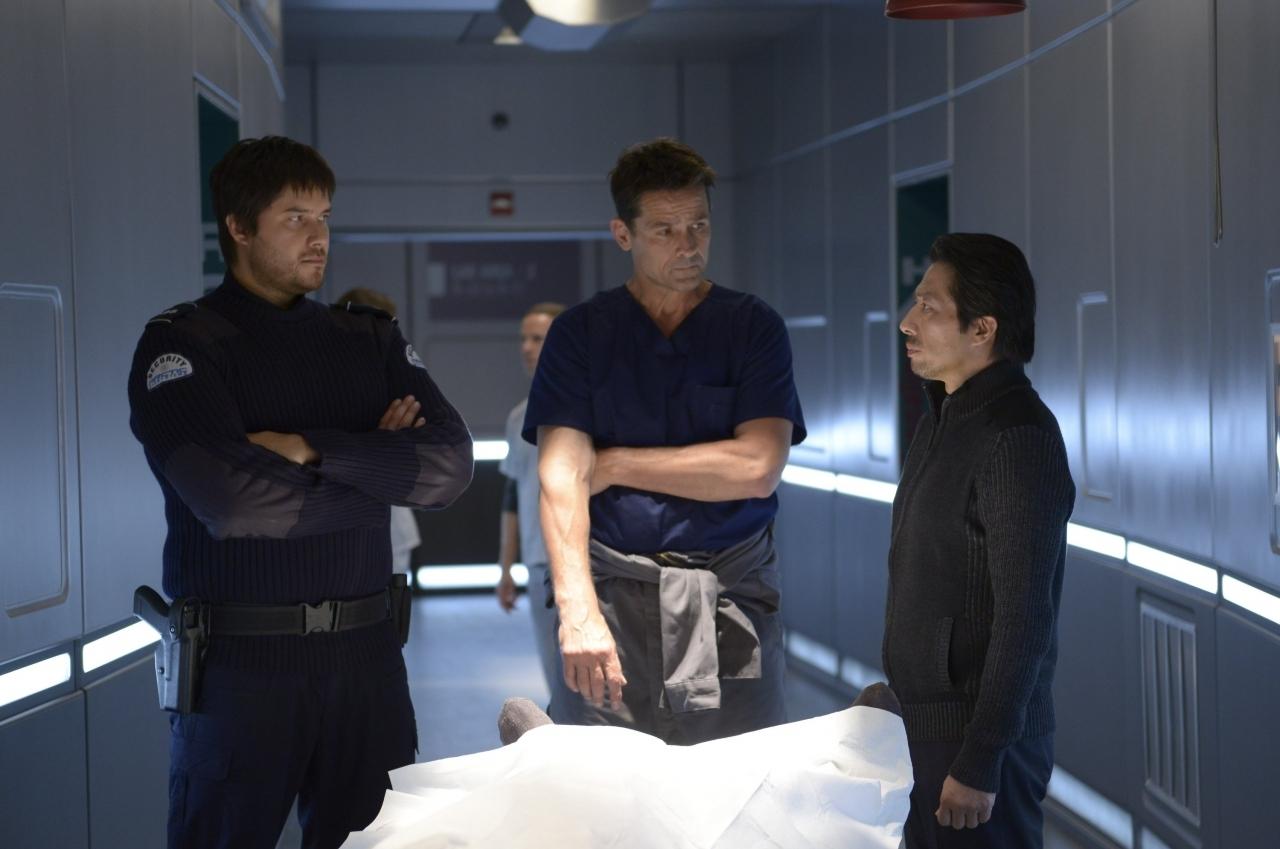 Helix: Billy Campbell, Hiroyuki Sanada nel primo episodio della serie