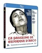 La copertina di La Passione di Giovanna d'Arco (blu-ray)