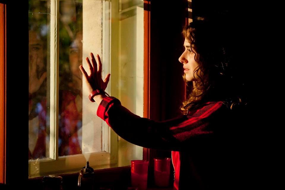 Nottetempo: Nina Torresi in un momento del film
