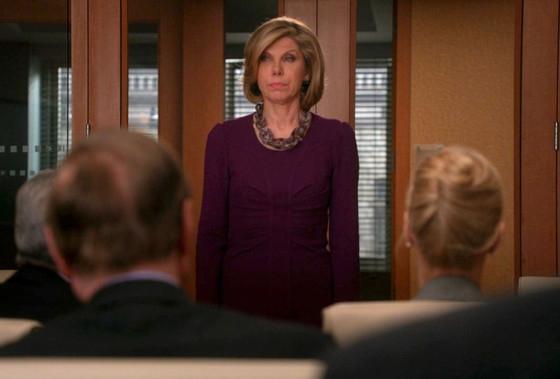 The Good Wife: Christine Baranski in una scena dell'episodio The Last Call