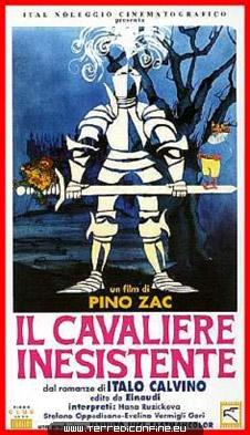 Il cavaliere inesistente: la locandina del film